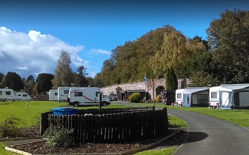 Walled Garden Caravan and Camping Park